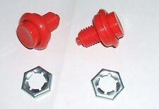 1 paire de boutons rouge  pr flipper Bally / Williams