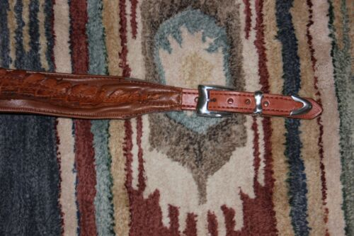 Manta Leather Custom hand made leather guitar straps  made to order