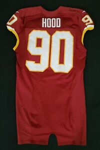 90-Ziggy-Hood-of-Redskins-NFL-Locker-Room-Game-Issued-Player-Worn-Jersey