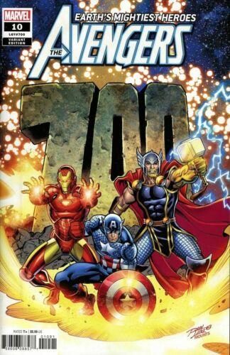 Avengers #10 LGY #700 Lim Variant Marvel Comic 1st Print 2018 Unread NM