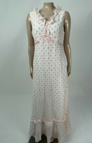 Vintage 60's 70's Unbranded Women's Dress Party Ma