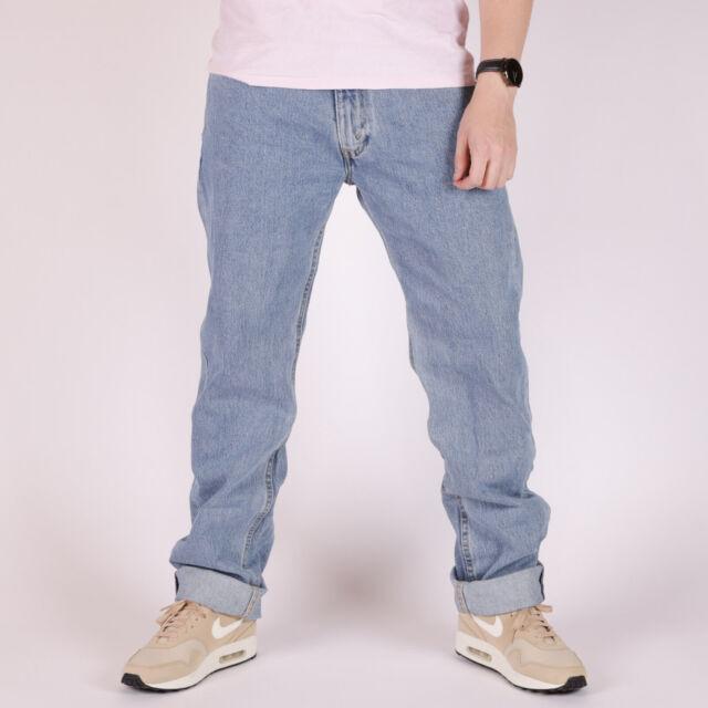 Levi's 505 Regular Fit hellblau Herren Jeans 32/34