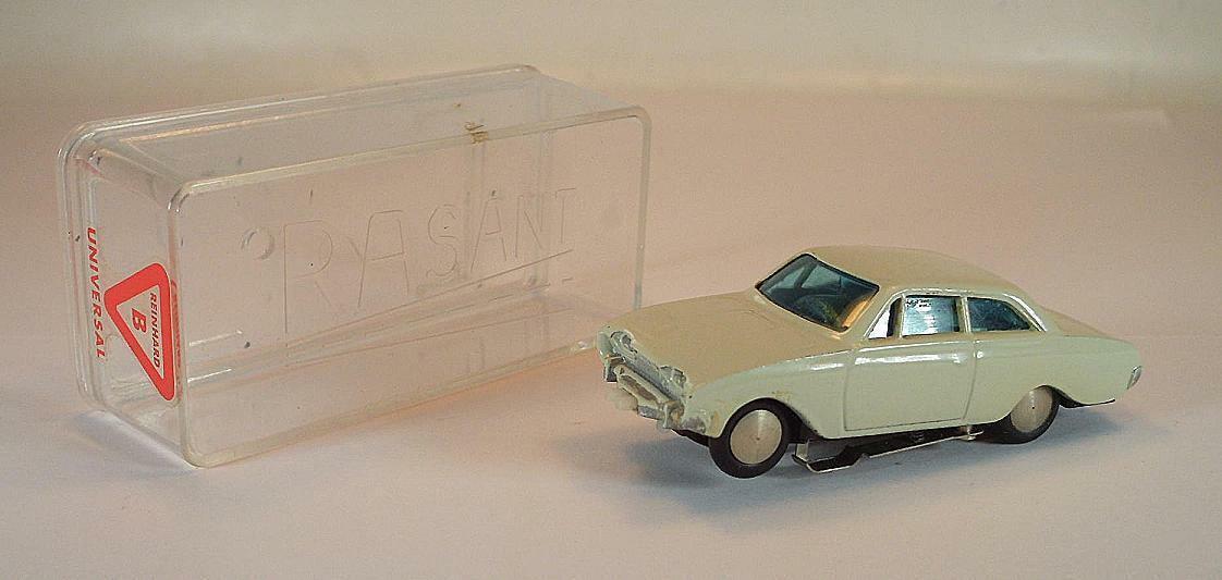 Slot Car Rasant Nr. 1002 Ford 17m Badewanne weiß für Faller AMS OVP  513