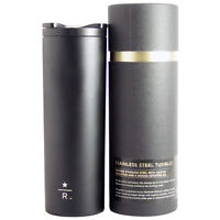 2012 Starbucks Reserve 16oz Black Stainless Steel Tumbler Limited Edition