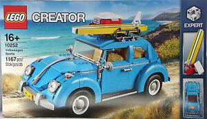 Lego Creator 10252 Coffret réfrigérant VW Cox Volkswagen Coccinelle Exclusif Nouveau Nouveau Scellé