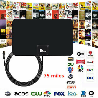 350 Mile Range Antenna TV Digital HD Skywire Antena Digital HDTV 1080p Indoor Ok