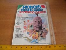 1989 Players Strategy Guide to Nintendo Games V2 #5 TMNT Game Boy Monster Party