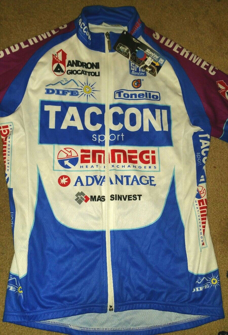 NWT Cycling Jersey Santini Tonello  Tacconi Sport Androni Giocattoli Seride SZ L  the best selection of