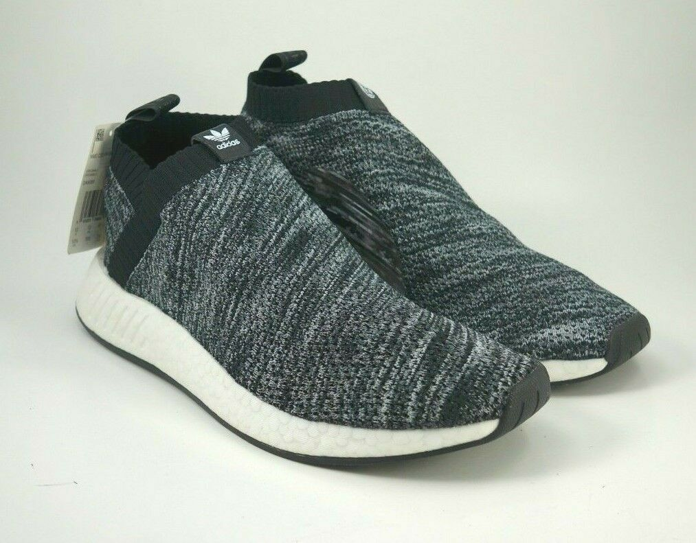 Men's Adidas United Arrows & Sons NMD CS2 PK UAS Black Grey DA9089 New Size 12.5