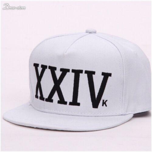 Nouveau Bruno Mars 24k Magic Casquette De Baseball Rouge Et Noir Chapeau Hip Hop XXIV Funk