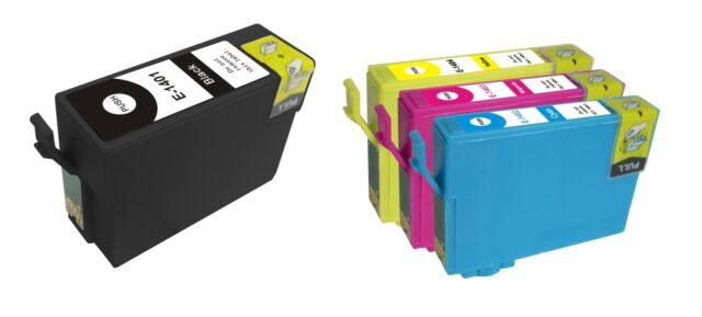 4 compatible Ink T1401-4 T140 for Epson WF- 60 625 840 845 WF7510 7520 3520 3530