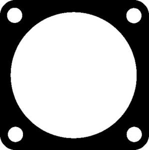 Abgasrohr für Abgasanlage ELRING 476.350 Dichtung