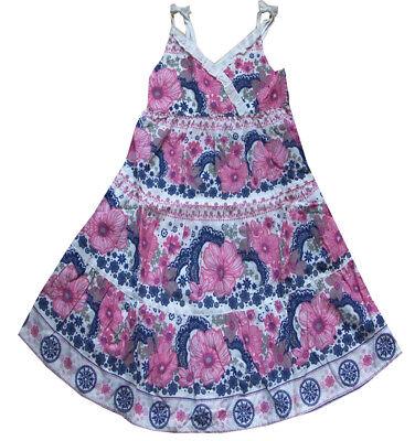 speziell für Schuh bieten eine große Auswahl an bestbewertet billig NEU H&M langes Kleid Sommerkleid Trägerkleid 98 104 weiß Blumen ...
