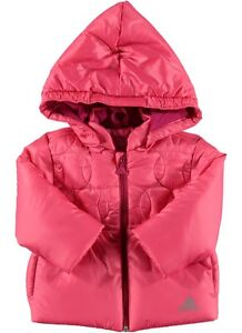 a22a690199346 adidas baby girls pink padded coat. Infants coat. Infant jacket ...