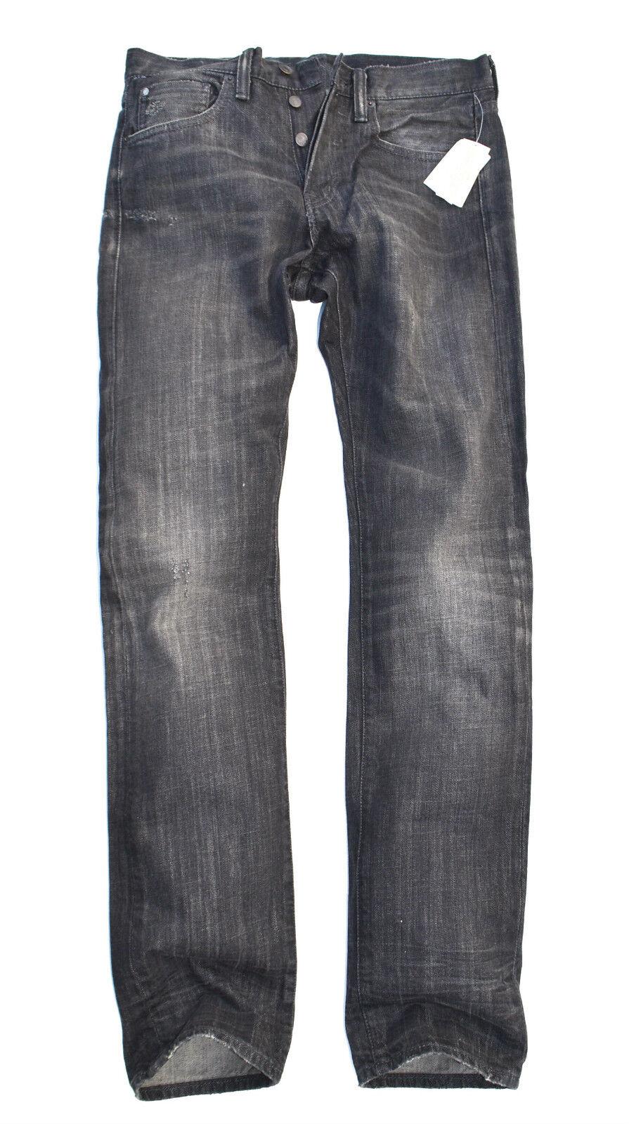 Denim & Supply Ralph Lauren Men's Straight-Fit -Lincoln Wash Jeans 12oz Size 30