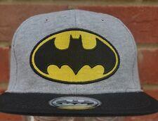 BATMAN Baseball Grigio Nero Snapback unisex cappello