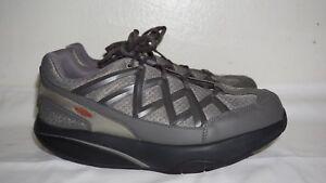 69803b926028 MBT SPORT 3 Men s Grey Rocker Sole TONING Sneaker s Sz Is 7.5 EUR 41 ...