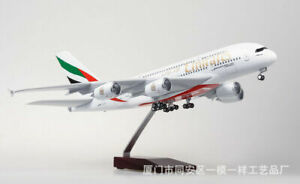 1-160-Aircraft-Simulation-Passenger-Airplane-Model-A380-w-with-LED-Light-Office