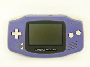 JUNK-Game-Boy-Advance-Console-VIOLET-AGB-001-Not-Working-ref-8040-Nintendo-gba