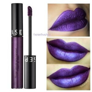 shades of buy hot sale Details about Sephora Collection Cream Lip Stain Liquid Lipstick 15  Polished Purple SEALED New
