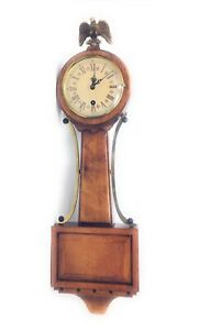 Mid-Century-034-BANJO-034-WALL-CLOCK-by-TREND-CLOCK-CO-like-Lucy-039-s