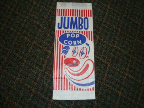 JUMBO Vintage Popcorn Bags Group of 200 ** Great for Home Theater