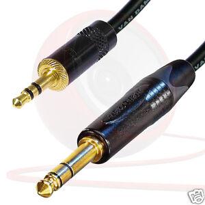 Stereo-Mini-Stecker-zu-Stereo-Klinkenstecker-kabel-3-5mm-to-6mm-Klinkenstecker