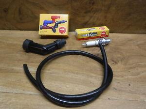 83-85 HONDA ATC110 SPARK PLUG CAP SPARK PLUG IGNITION COIL WIRE CABLE ATC 110