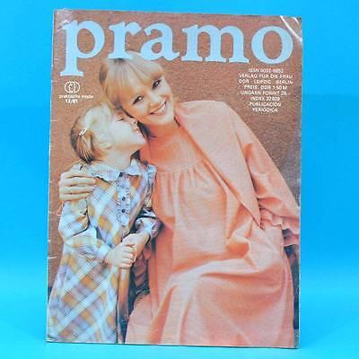 Vereinigt Pramo 12/1981 Ddr Praktische Mode Schnittmuster D Umstandsmode Freizeitmode
