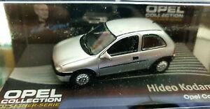 Opel-Corsa-B-Grigia-Hideo-Kodama-Scala-1-43-Die-Cast-Opel-Collection-Nuova