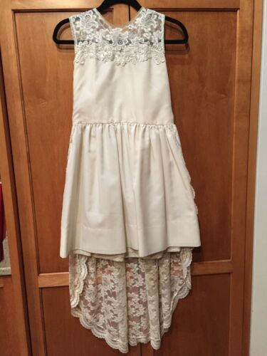 Vintage 60's Wedding Mini Dress