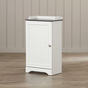 Bathroom Storage Cart Small Cabinets Free Standing Floor ...