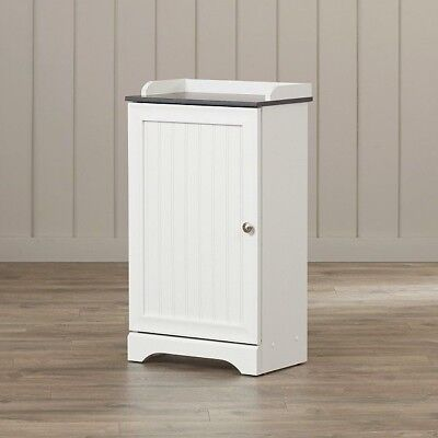 Bathroom Storage Cart Small Cabinets Free Standing Floor