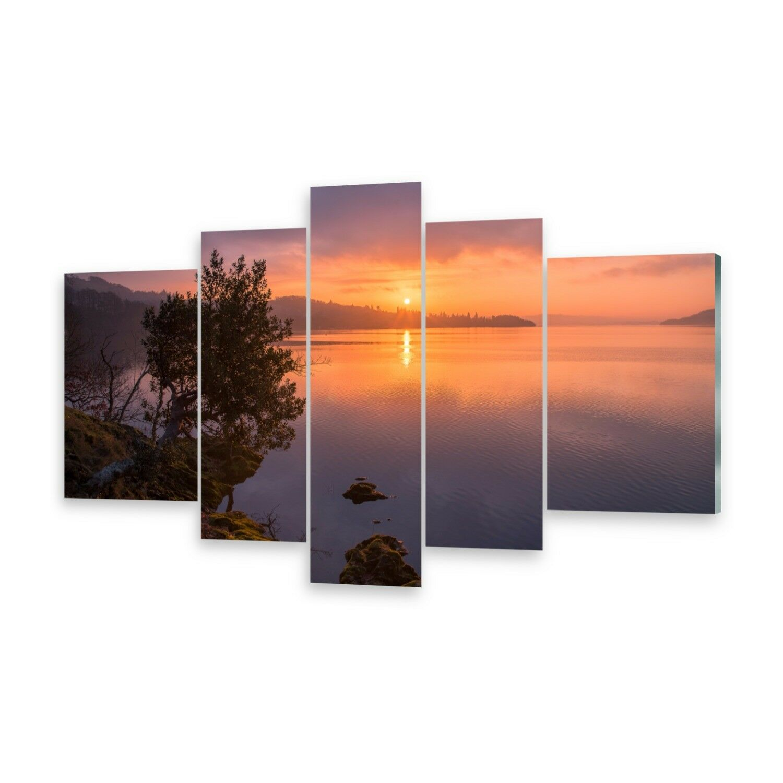 Mehrteilige Bilder Glasbilder Wandbild See Windermere