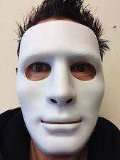White Mime Robot Mask The Purge Dance Crew Halloween Hockey Hip Hop Jabba Masks