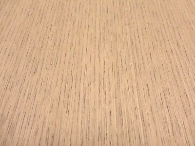 "Quarter Teak composite wood veneer 24"" x 24"" on paper backer 1/40th"" thickness"