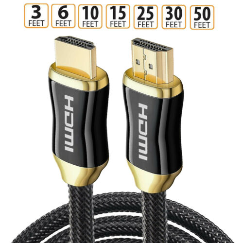 In Wall rated HDMI Cable 8K Ultra-HD UHD 8K HDCP 2.2 Cable eARC /& ethernet Lot