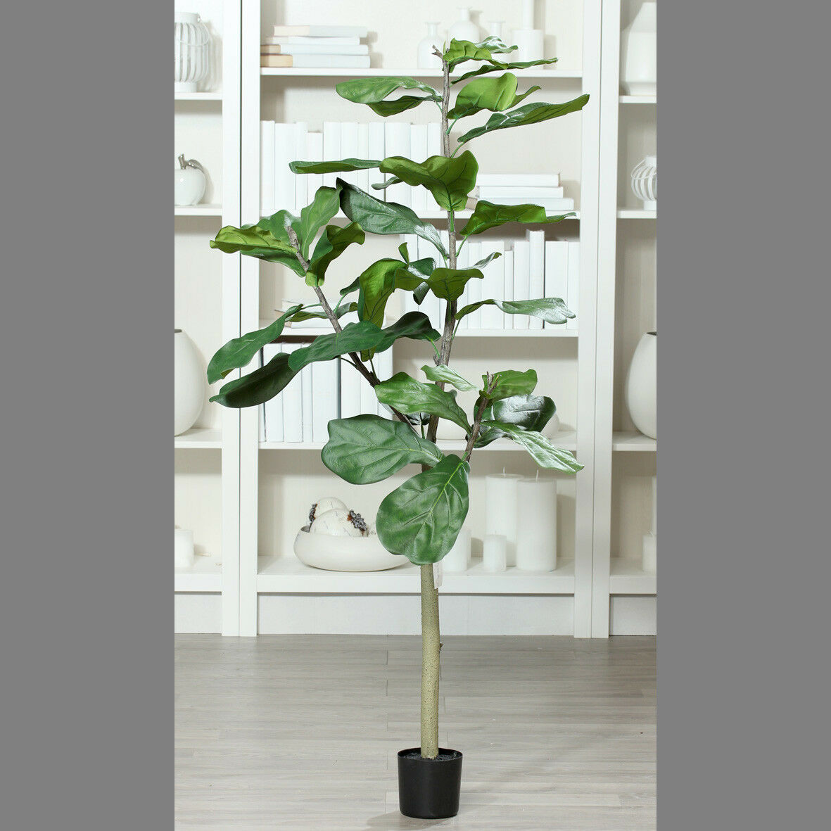 Geigenfeige 160cm DP Kunstbaum Kunstpflanzen künstlicher Baum Ficus Lykra