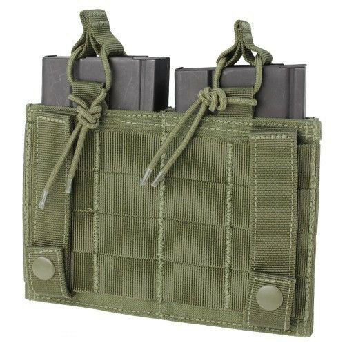 Condor 191040 Double Kangaroo Mag Pouch for 7.62 Rifle /& Pistol Mags Multicam