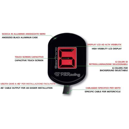 PZRacing GearTronic Zero Gear Indicator Suitable for Honda CTX 1300 2015