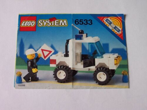 LEGO ® de recette//Instruction nº 6533