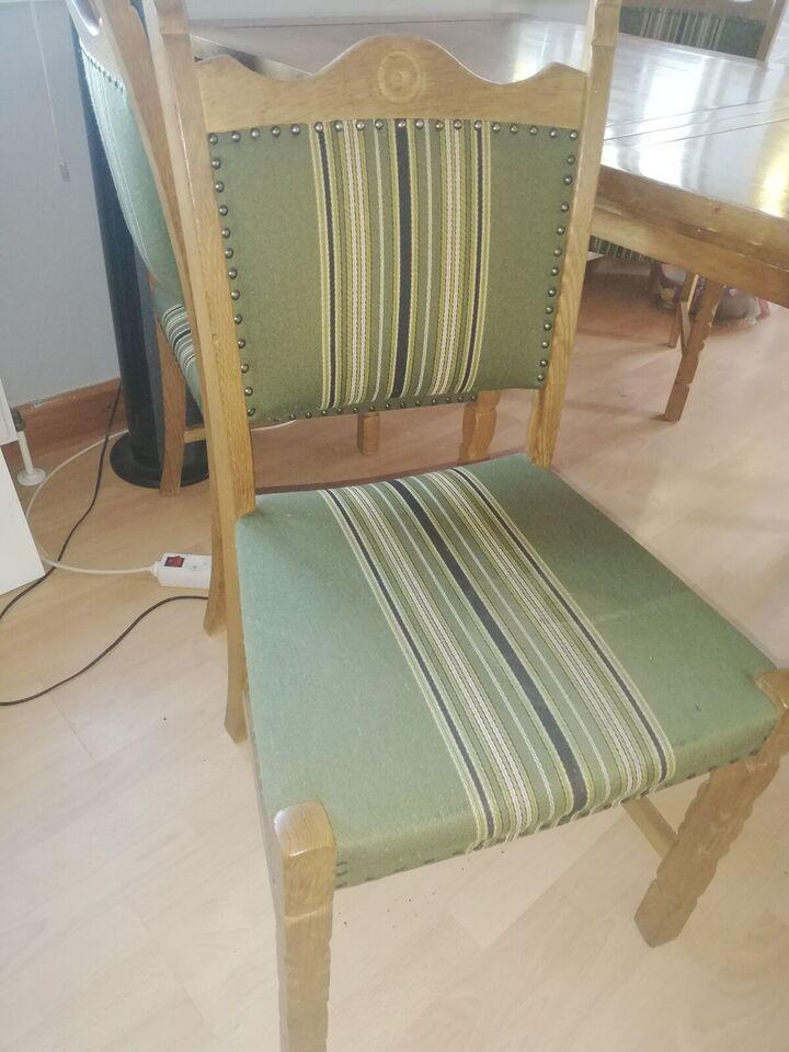 Spisebord m/stole, Eg og andet, Adam