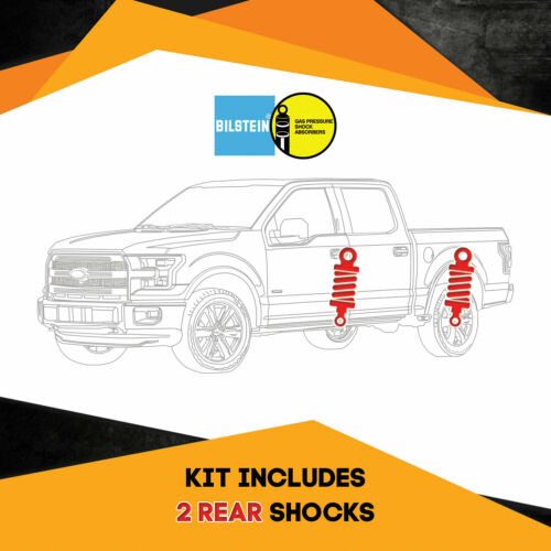 "Kit 2 Bilstein B8 5100 Rear 1/"" lift shocks for TOYOTA Tacoma 4WD 95-`04"