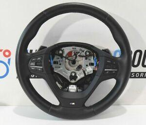 BMW-SPORTS-Cuir-Pilotage-Zaime-M-F25-F26-X3-X4-Volant-Sport-Lederl-Vibration