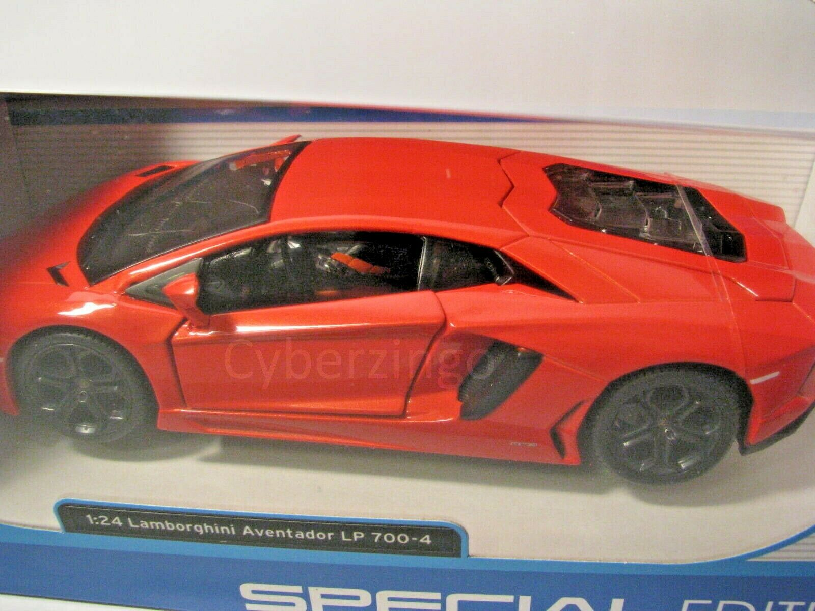 Lamborghini Aventador lp700-4 Coupe Orange 2,4 GHz RC funk auto con iluminación u