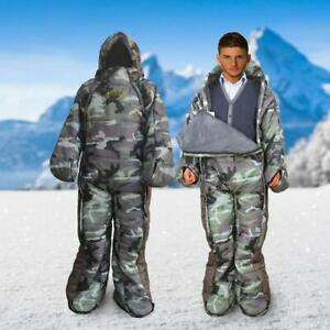 VINSONMASSIF Wearable Sleeping Bag for Camping Hiking and Outdoors