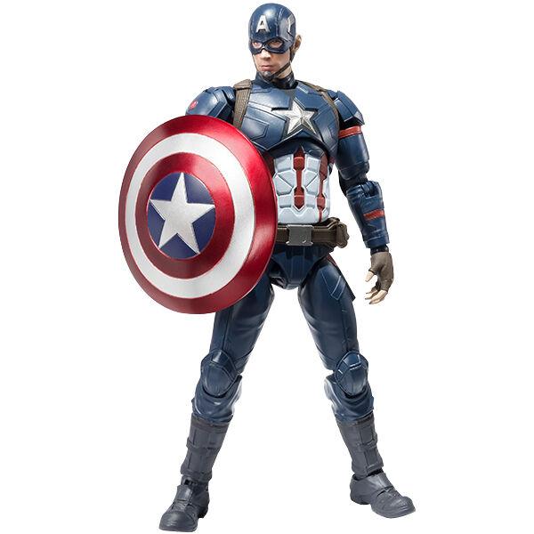 Bandai S.H. Figuarts Capitán América (guerra Civil) versión de Japón