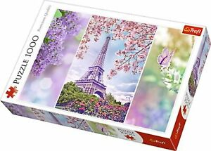 Romantic Spring in Paris ~ 1000 Piece Trefl Jigsaw Puzzle