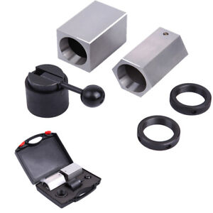 5C-CB Collet Block Chuck Set - Square, Hex, Rings & Collet Closer Holder w/Box 723044211408