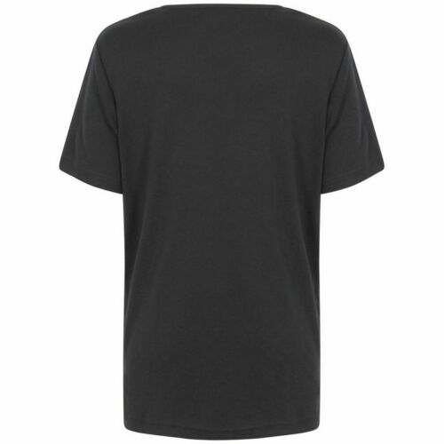 16//18 20//22 * * brand new mesdames femmes plus taille noir tops//t shirts taille 12//14